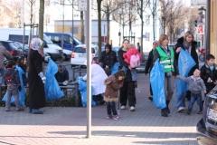 """Aktion """"Saubere Stadt"""" im März 2012"""