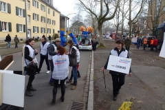 Faschingsumzug 2014 in Ludwigshafen